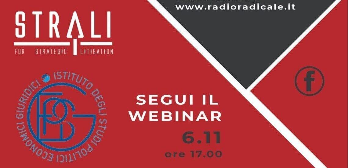 Immagine di copertina di: Lavoro ed emergenza sanitaria, Cavallaro al webinar Ispeg – StraLi su Radio Radicale